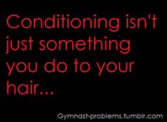 It's an athlete thing!:p **cheerleading** No it's the worst in Gymnastics 🤸♂️ Gymnastics Problems, Gymnastics Workout, Rhythmic Gymnastics, Gymnastics Stuff, Olympic Gymnastics, Funny Gymnastics Quotes, Inspirational Gymnastics Quotes, Funny Quotes, Life Quotes