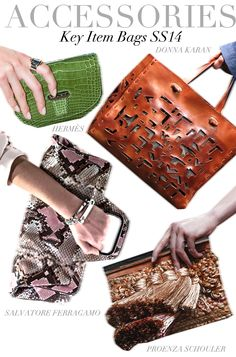 Trend Council:  Accessories - Key Item Bags SS14
