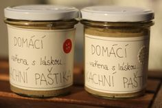 U nás na kopečku: ... rychlá domácí paštika.... Czech Recipes, Kitchen Hacks, Talenti Ice Cream, Homemade Gifts, Food Inspiration, Pickles, Ham, Breakfast Recipes, Preserving Food