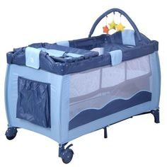 [Toy Storage Ideas] Baby Playpen Playard Bassinet Foldable Bed Travel Crib Newborn Infant Blue Color -- Find out more about the great product at the image link. (This is an affiliate link) Baby Playpen, Baby Bassinet, Bassinet Ideas, Portable Baby Cribs, Baby Play Yard, Baby Crib Sets, Foldable Bed, Baby Shower, Blue Bedding