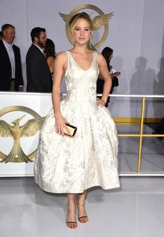 Click for a chronological guide to Jennifer Lawrence's winning fashion moments!