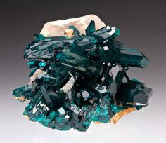 Beautiful Minerals — plantsrocksthings: Dioptase, from Namibia
