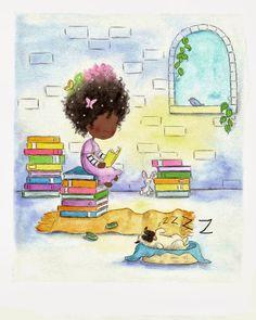 Pinzellades al món: Llegint als núvols: xiquets lectors / Leyendo en las nubes: niños lectores / Reading in the clouds: young readers