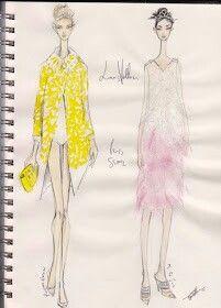 Pippa McManus Sketch Show : Louis Vouitton, S/S12, Paris