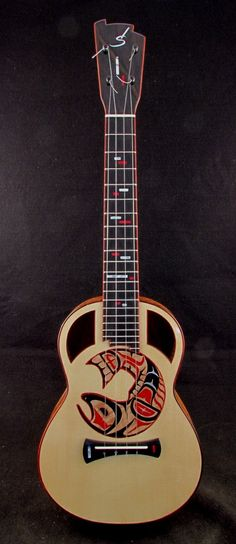 Custom Ukulele by Mike DaSilva