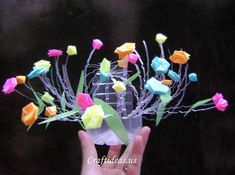 Recycling plastic bottles: summer flower pot for home - Craft Ideas - Crafts for Kids - HobbyCraft
