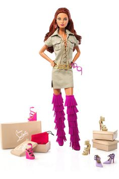 New Glamorous Doll for Fashionable Girls – Barbie from Cristian Louboutin | Kidsomania