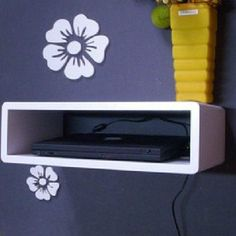 Details About Wall Mount Shelves Cube Floating Dvd Hifi