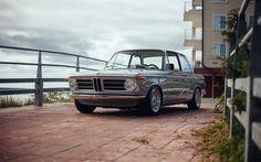 Descargar fondos de pantalla BMW 02, E10, 1971 coches, coches alemanes, retro coches, BMW