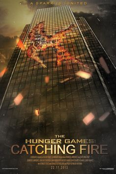 awesome fan-made Catching Fire poster