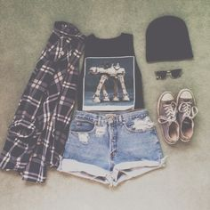 Soft grunge outfit