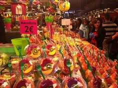 Fruits frais au marché St Josep - La Boqueria - #Barcelona