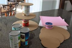 Why, yes!  I would love to make my own cupcake stand!