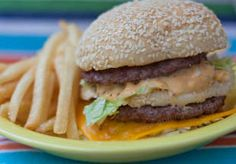 Homemade BigMac Sauce Recipe and Make your own fast food burgers by grilling24x7