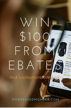 If you like freebies or giveaways, then you will be excited to know that Ebates has teamed up with Workersonboard.com to give away $100 this month!  It is a great way for you to get more familiar with Ebates and also have a chance to win $100 in cash!  Here is what you need to …