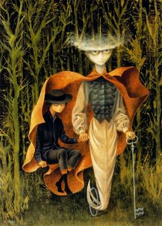 Embroidering the Earths mantle - Remedios Varo - WikiPaintings.org