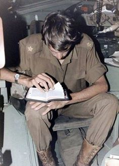 Lets not forget what a major role religion plays for many serving men and women. Nothing reflects it more than this SADF army officer (2nd Lieutenant) studying his Bible at his post whilst in the combat zone.  Most poignant is that this officer is 2nd Lt Johan Kooij, South African Infantry Corps, who won a Honoris Crux decoration for bravery whilst on Operation Modular on the 13 September 1987 serving with 61 Mechanised Battle Group.  This photo was taken by Maj. Dawid Lot