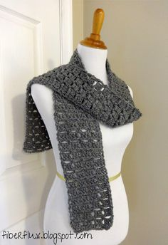 Fiber Flux...Adventures in Stitching: Free Crochet Pattern...Everybody Scarf!