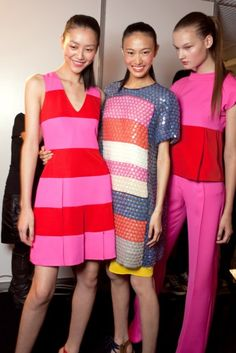 How to Color Block: Summer 2013