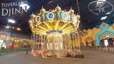 Toverland 2019 Djinn 360° VR Onride Vr, Carousel, Carousels