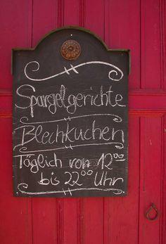 Verlockung - Spargel in Beelitz