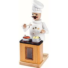 Smoker TV Chef - 18cm / 7inch by Richard Glässer - authentic from the German Erzgebirge