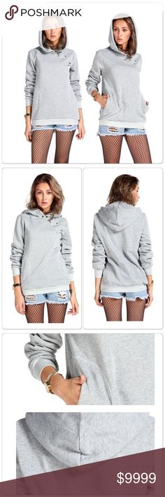 Sport Sweater Pullover Hoodie Sport Sweater Pullover Hoodie , Very fashionable women's hoodie for upcoming winter. Material: Cotton, Polyester, Spandex.                                                                                          ✅Price is firm unless bundle                                                                                                                             ❌NO TRADES. ❌NO LOWBALL OFFERS Tops Sweatshirts & Hoodies