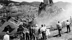 Homestake Gold Mine's Ellison Shaft Fire - Lead, SD, 1930