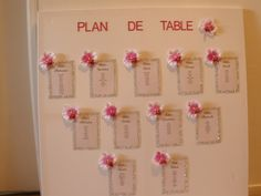 plan de table strass et orchidées
