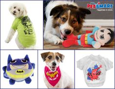WIN a Superhero Outfit or Toy for Your Dog from PetSmart {10 Winners} 10K Fan Celebration Givaway