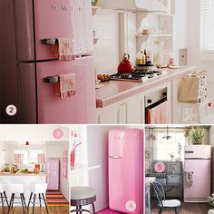Refrigerators can come in pink?!?!?!?! How did I not know this before?!