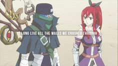 I am Erza Scarlet of the Fairy Tail guild. If you lay a finger on any of my nakamas you will feel...