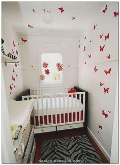 Very small nursery ideas ad baby nursery ideas small nursery storage ideas Small Baby Nursery, Red Nursery, Small Space Nursery, Baby Nursery Closet, Baby Nursery Neutral, Nursery Curtains, Nursery Room, Girl Nursery, Nursery Ideas