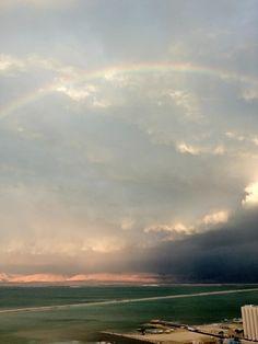 Rainbow West of Israel
