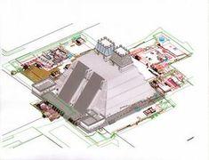 Expertos del INAH y Japón elaboran mapa de precisión milimétrica de Tenochtitlán Pyramid School Project, Taco Time, Aztec Art, School Projects, Archaeology, Culture, History, Director, Architecture
