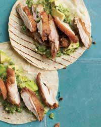 Fried Chicken Tacos Recipe on Food & Wine
