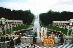 The Summer Palace - St Petersburg, Russia