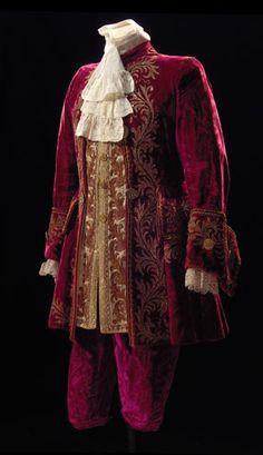 Siglo XVIII hombre #vestuario