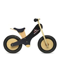 Black Chalkboard Balance Bike #kids  #toys #gifts | $74.99