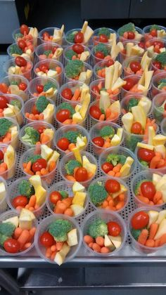 Veggie cups with Fresh Local Squash from White County, Georgia