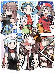 .Pokemon Trainers