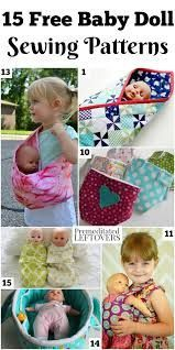 Image result for baby doll carrier pattern