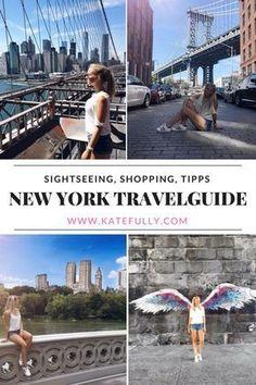 Entdecke New York! Was du unbedingt sehen solltest, wo du am besten Essen und Shoppen kannst. Das findest du in meinen ultimativen Travel Guide.