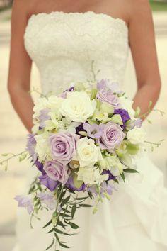 Bouquet mariée violet