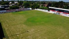 Bromsgrove Sporting's Victoria Ground, now protected thanks to the supporters' trust.