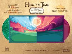 Legend of Zelda Ocarina of Time Limited Edition Vinyl Album Set 2 LP Records #iam8bit