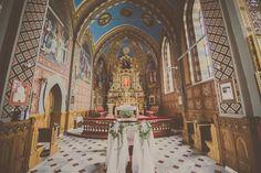 ślub w kościele, dekoracje ślubne