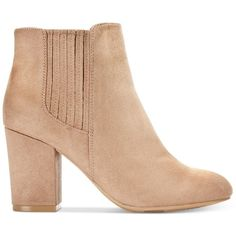 Call It Spring Pietraia Booties ($27) ❤ liked on Polyvore featuring shoes, boots, ankle booties, chelsea boots, call it spring boots, chelsea ankle boots, beatle boots and zip up boots