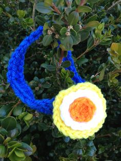 Crochet OKC Thunder Headband on Etsy, $7.00