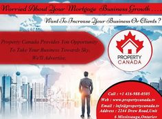Now Increase Your Real Estate Business Circle With Us As We Advertise On Digital Marketing, Internet Marketing. Creating, Planning, & Handling Advertising, ETC To Make Your Business More Wider. For More Info Contact : http://propertycanada.tv Call : 416-988-0505 #PropertyCanada #Advertisment #Business #Growth #Wider #Bigger #Stronger
